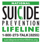 Link to the Suicide Prevention Lifeline Page